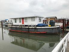 Houseboat for refurbishment