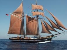 Historic Topsail Schooner