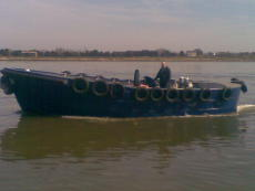 33ft  steel workboat new build