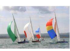 5.5 metre Classic Three Man Racing Yacht
