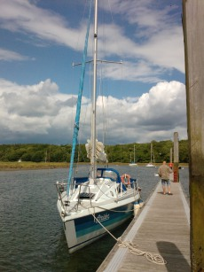 Strider Limbo 9.9 lifting keel cruiser racer (price reduced by £2K !)