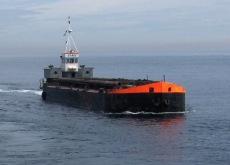 Hopper bottom door Barge
