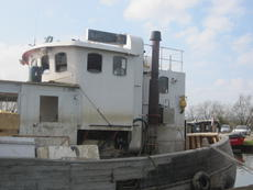Steel Wheelhouse from 21m Trawler, New Photos