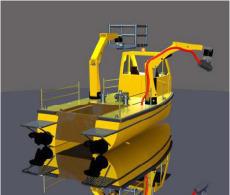 Water Tractor Utility Vessel