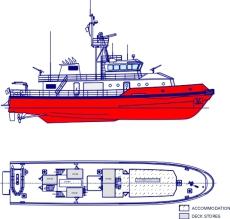 32Meter Emergency Response Vessel Tug