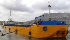 SPLIT HOPPER BARGE & MECHANICAL DREDGER