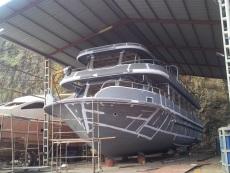 NEW!!!24 Meter Steel Passenger Boat Under Construction