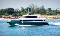 Passenger catamaran