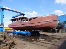 56,275 Euros, New Hull and Deck Luxemotor