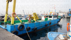 Used 26M Utility Boat with A Frame and Deck Crane