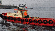 16 meter Steel Agency workboat