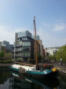 Residential mooring, 10year lease, Houseboat, London