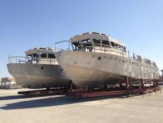 Two semi complete Patrol Boats