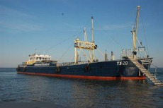 150 pax, former Cockle vessel, work ship