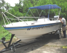 20ft Center Console Fishing Boat