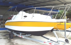 22ft Boat with Cuddy cabin