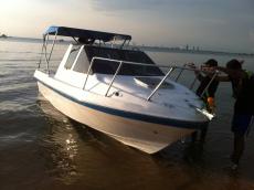 20ft Cuddy cabin fishing boat