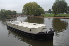 Wide Beam River Barge 62'x12'6""