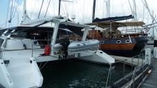Comfortable safe and proven catamaran