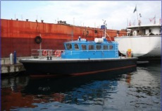Steel Pilot boat with Aluminum Whelhouse