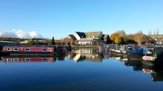 Trent & Mersey Canal - Festival Park Marina - Staffordshire
