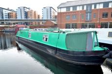 Femina Ferrea 50ft Cruiser Stern Narrowboat Built 1998