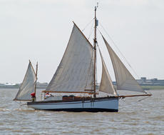 Classic Custom Built Gaff Rigged Yawl  FOR AUCTION