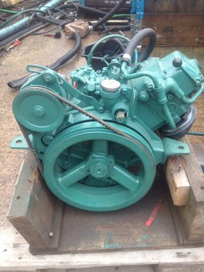 Volvo Penta MD5a 7.5hp Marine Diesel Engine Package