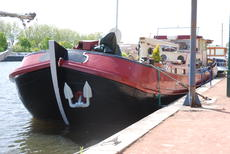 barge for sale, built Rotterdam