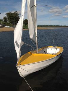 Wayfarer 9319  ready to sail