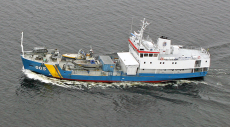 Research vessel direct from Swedish Coastguard, KBV 005