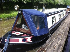 Under Offer Kismet 50ft Cruiser Stern Narrowboat £31,995