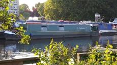 45' Narrowboat with mooring