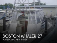 1986 Boston Whaler 27 Offshore