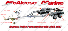 Indespension Boat Trailer Parts