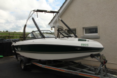 Tige 20i wakeboard waterski boat