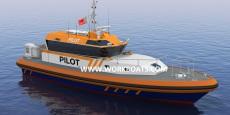 17M Fast Pilot boat