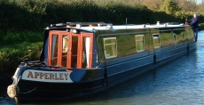 Apperley - 58ft Semi-Traditional Narrowboat 1/12th Share For Sale
