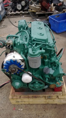 Volvo Penta 2003 28hp Heat Exchanger Cooled Marine Diesel Engine