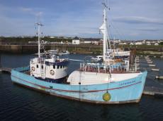 DANISH EX-FISHING BOAT, WOODEN, 19.5m