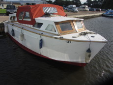 Traditional Broads Cruiser
