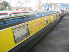 49ft Cruiser Style all steel Narrow boat