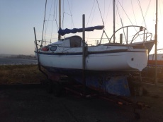 Westerly 25 Yacht and Trailer