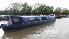 57ft semi trad narrowboat registerd 2011
