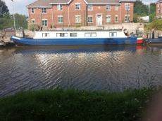 48ft narrow boat