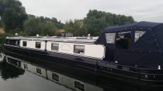 Viking Crick 2013 70ft Widebeam boat.
