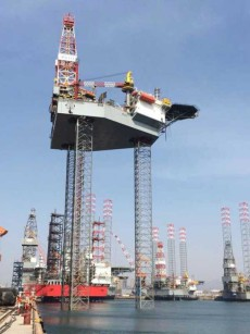 NB RESALE 300 FT JACK-UP DRILLING PLATFORM