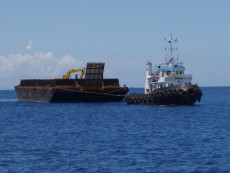 230 ft Barges & Tug boat 2x500 for Sale