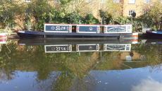 Narrowboat Sloe Gin 45 Foot Tug