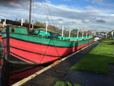75ft x 20ft Exhibition Barge could be used for houseboat